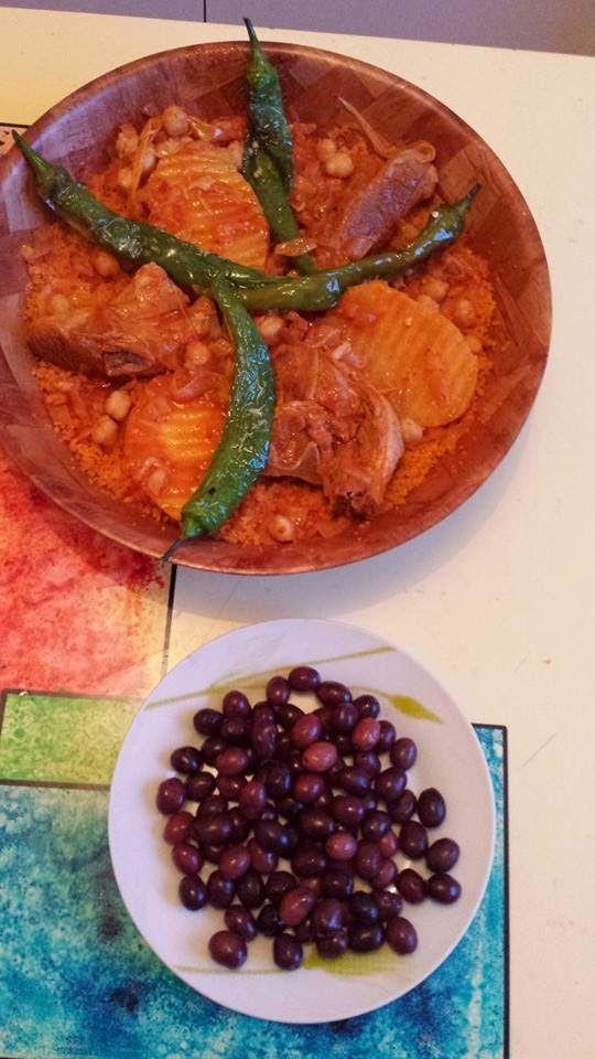 Recette tunisienne recette couscous tunisien http for Cuisine tunisienne