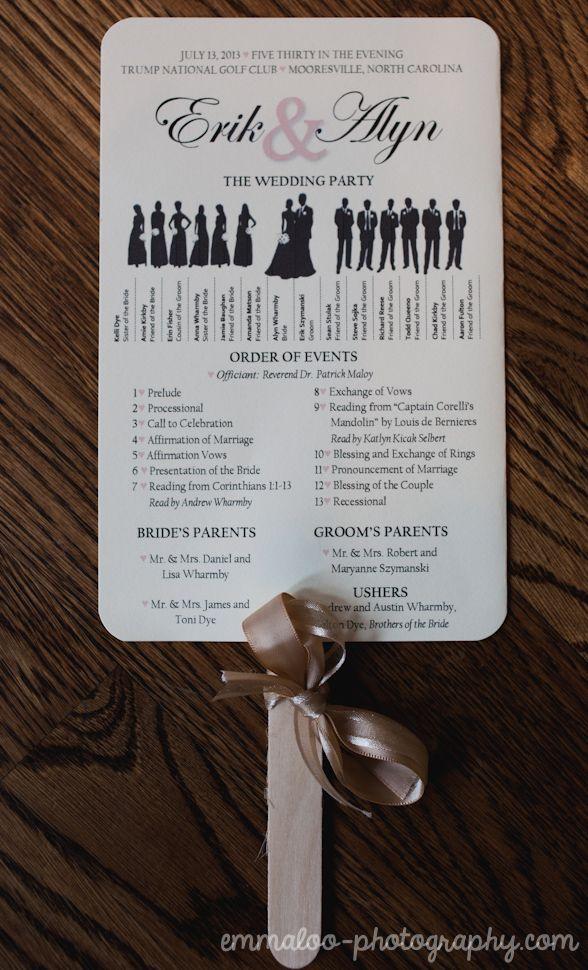 Best 25+ Fan wedding programs ideas only on Pinterest   Fan ...