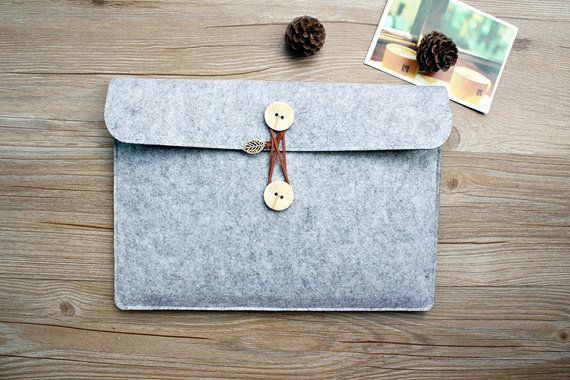 felt Macbook Pro 13.3 sleeve Macbook 13 sleeve Macbook by FeltSJie