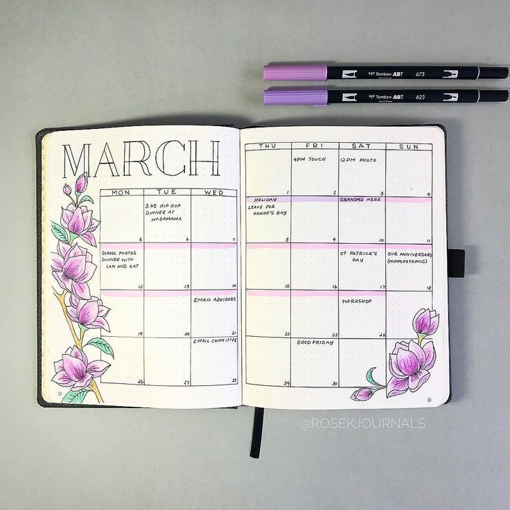 Friday Finds: Pink Bullet Journal Theme