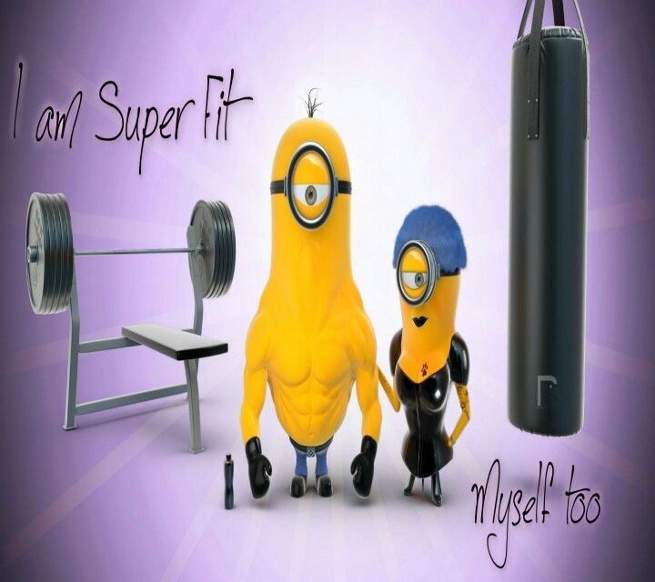 Gym Minions | Minions | Pinterest | Best Gym, Fit and ...