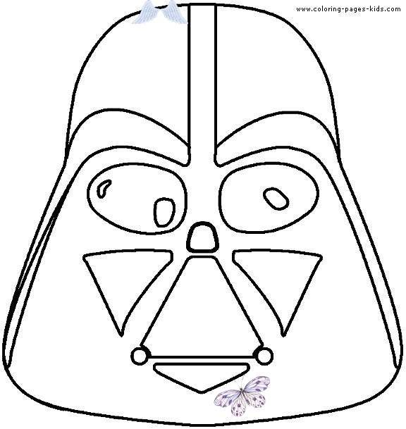 Star Wars Color Page Coloring Pages For Kids Cartoon Characters Coloring Pages Printable Coloring P Star Wars Crafts Star Wars Colors Kids Coloring Books
