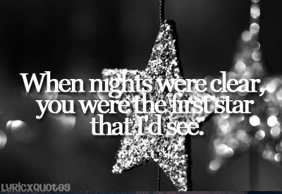 """Used To"" by Chris Daughtry is one of my favorite songs, and it reminds me of Bo & Carly. Bo used to call Carly his ""North Star""."