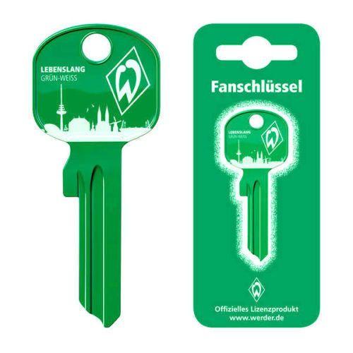 SV Werder Bremen  Fanschlüssel Schlüsselrohling Bundesliga-Schlüssel