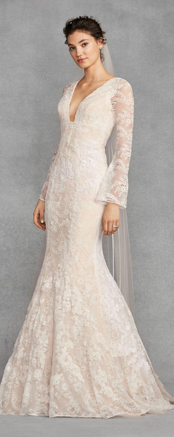 Lace Wedding Dresses Vera Wang