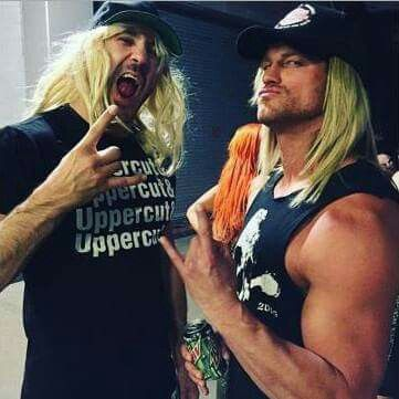 Cesaro and Dolph Ziggler.