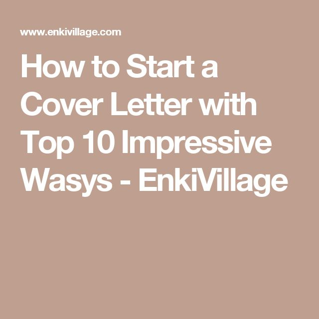 33 best cover letters images on Pinterest Ea, Career and Cover - start cover letters
