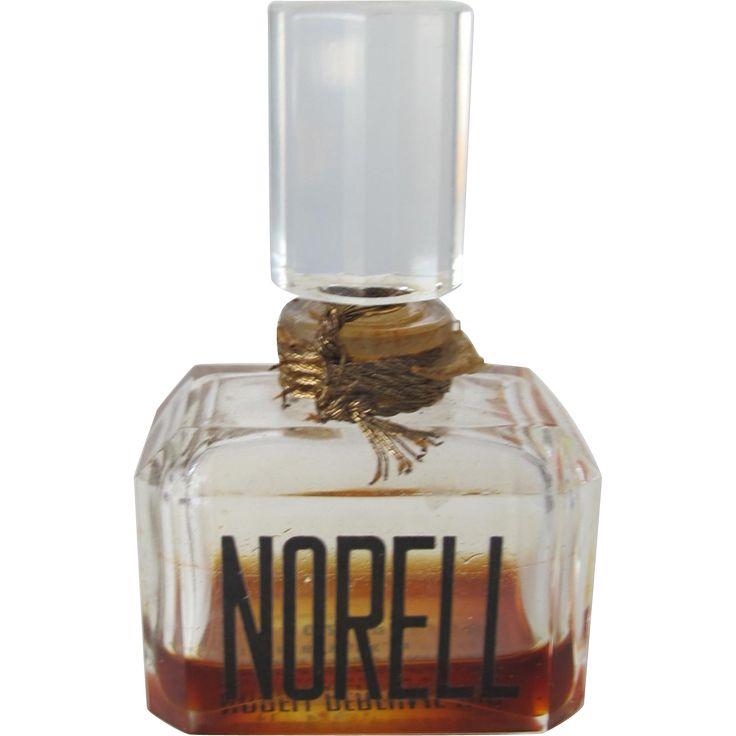 Norell Perfume Bottle Small All Glass Bottle