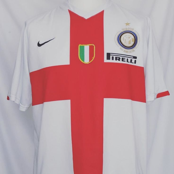 2007-08 Inter Milan Centenary football shirt L - beaut of a shirt via @