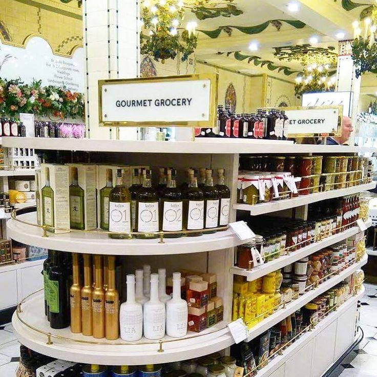#LIA #premium #evoo #luxury #product #healthyfood #design #white #bottle #shopping #gourmet #grocery #Harrods #London #UK #happyoctober Harrods