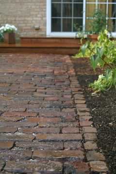 march 2015 new house salvaged chicago pavers - Brick Garden 2015
