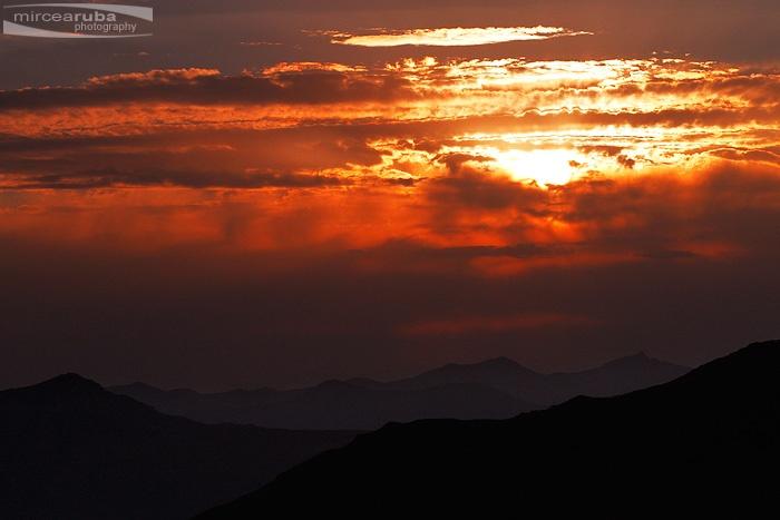 Rodnei Mountains of Romania
