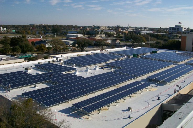 Solar panels in arena | Solar Companies Gold Coast | Pinterest