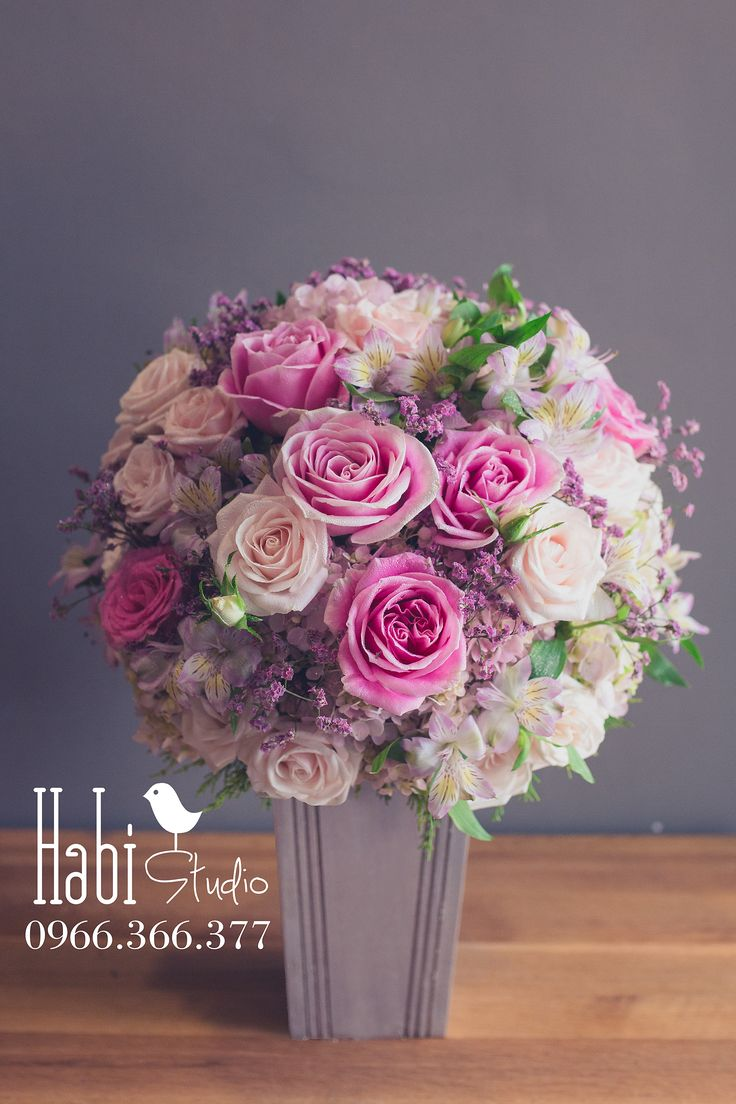 Habi flower, Habi studio, flower arrangement, birthday flower, Habi design, vintage flower