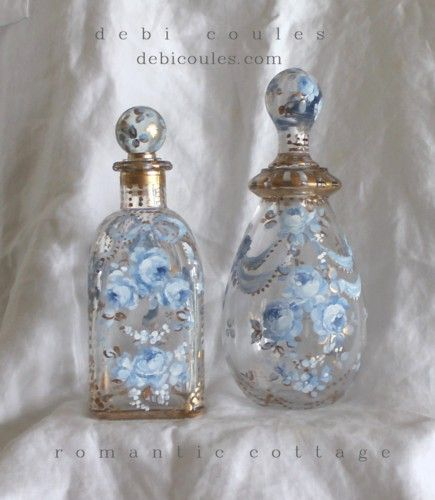Romantic Perfume Bottles available at www.debicoules.com