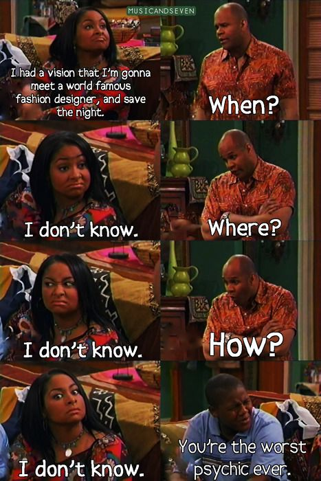 I miss That's So Raven... (yup that's me)