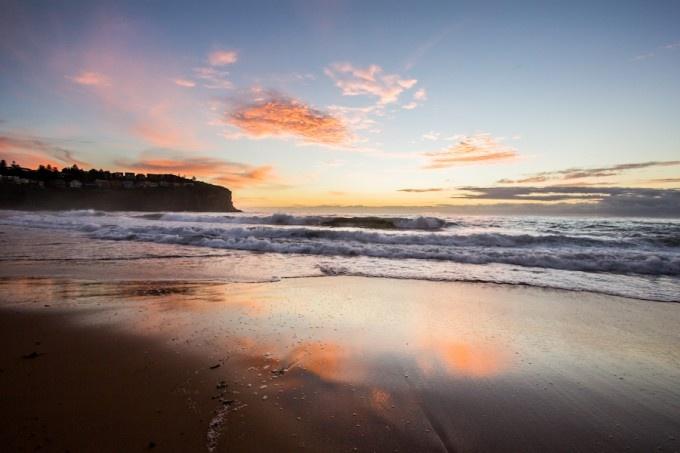 One of my favourite sunrises this year at Bilgola Beach NSW Australia.