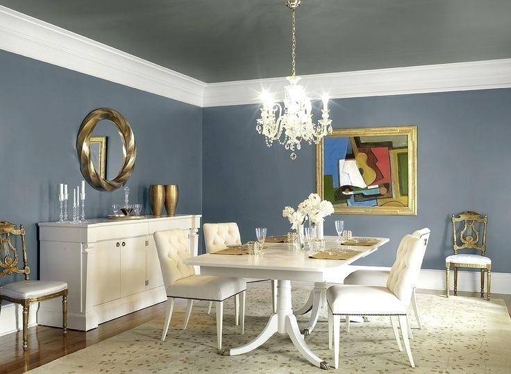Benjamin Moore Slate Blue Fredericks Burg Dining Room Colors Dining Room Blue Dining Room Teal