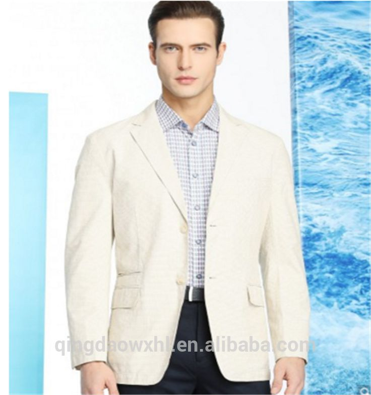 OEM Latest Design European style Custom Made Mens Suit / Guangzhou Tailor Made Suit