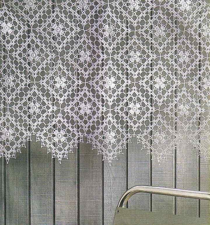 схемы вязания палантина крючком филейное вязание