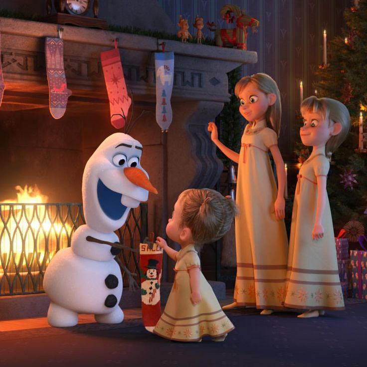 Yule want to see this! ☃️#OlafsFrozenAdventure is on ABC tonight at 8|7c.
