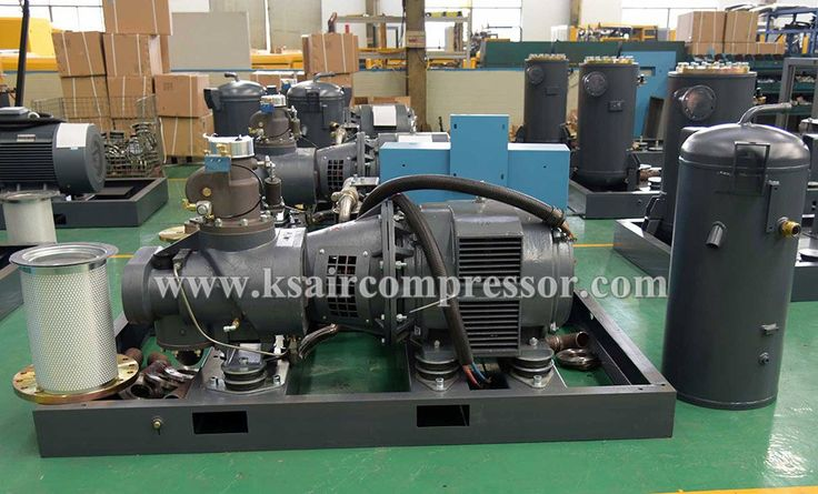 Inner structure of Electric stationary screw air compressor, rotary air compressor