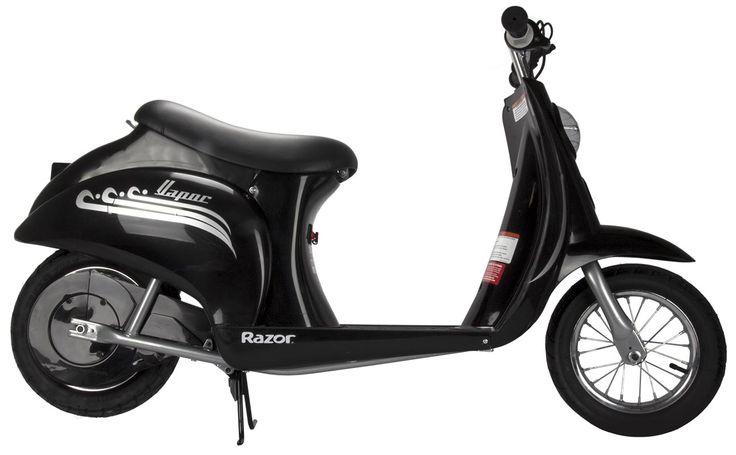 Razor Pocket Mod Vapor 24v Electric Retro Scooter Black