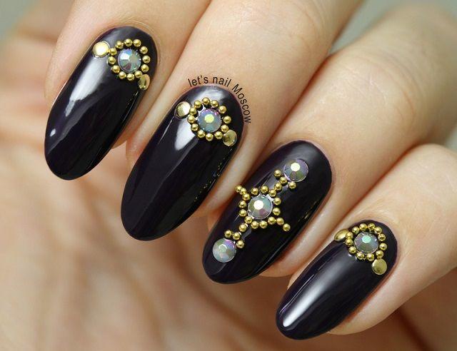 8 mejores imágenes de Decoración de uñas con piedras en Pinterest ...
