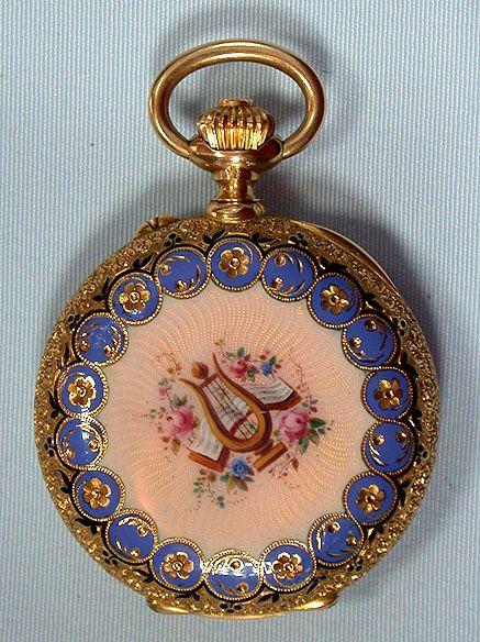 antique enamel, circa 1890/ Bogoff Antique