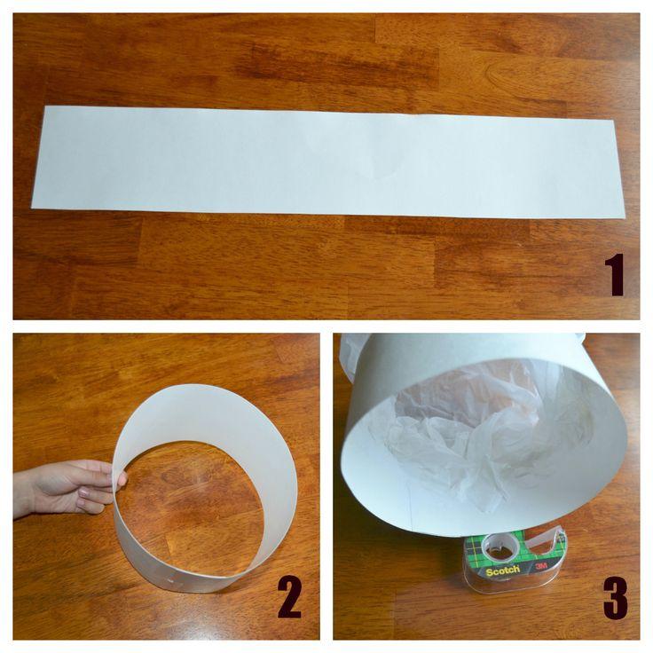 | Papieren koksmuts maken