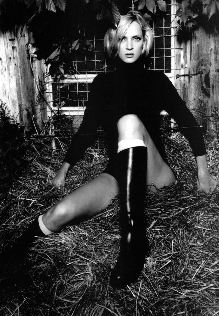 Uma Thurman. Photo: Annie Leibovitz.