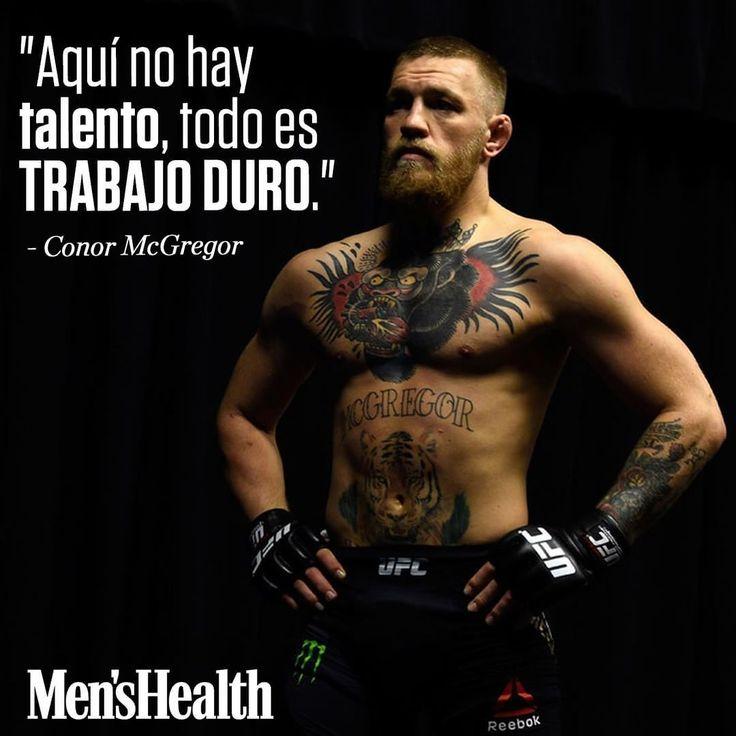 El campeón del mundo de UFC Conor McGregor @TheNotoriousMMA es un tipo duro muy duro. El próximo 26 de agosto se enfrentará a Floyd Mayweather un combate que ha despertado interés en todo el mundo y que va a tener una audiencia millonaria.  #MensHealthESP #motivaciónMH #inspiraciónMH #UFCWorldChampion #UFC