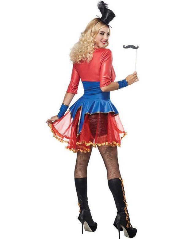 Vrouwelijke Circusdirecteur Vrouw Kostuum? Bestel hier!