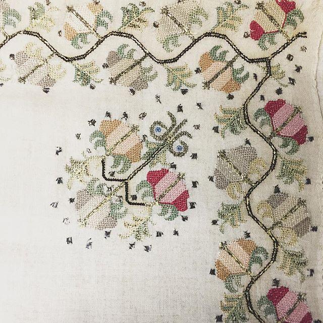 19th century Turkish embroidery.