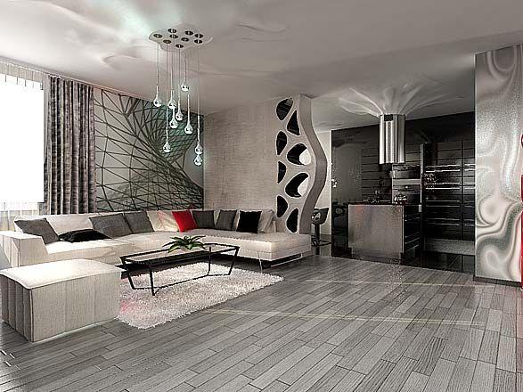 Современный стиль в интерьере квартиры - http://dominterior.org/info/article/a-16.html