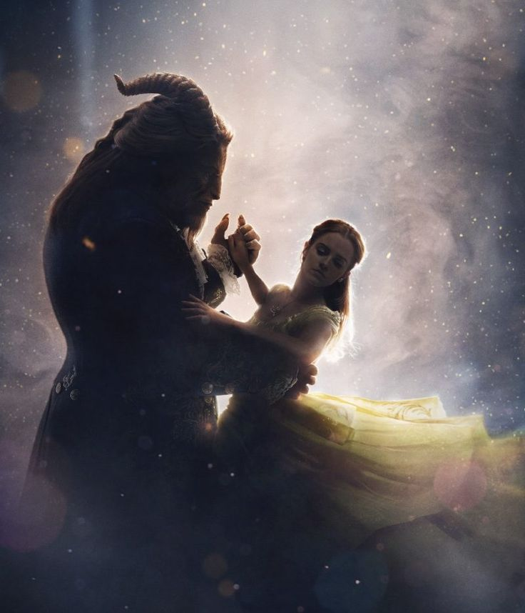 BREAKING: YOU WON'T BE ABLE TO STOP LOOKING AT THE NEW BEAUTY AND THE BEAST POSTER
