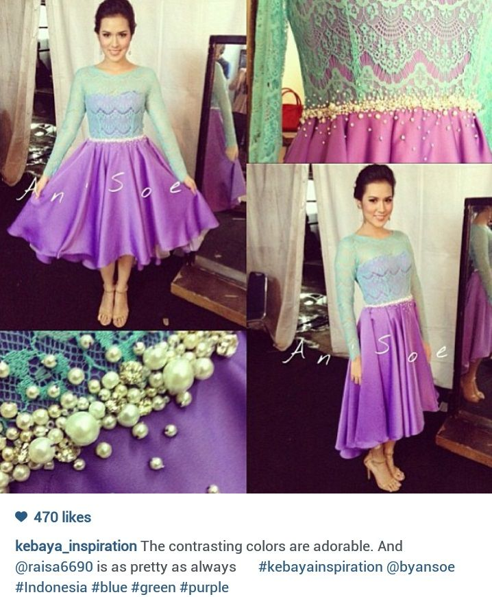 Raisa Kebaya dress