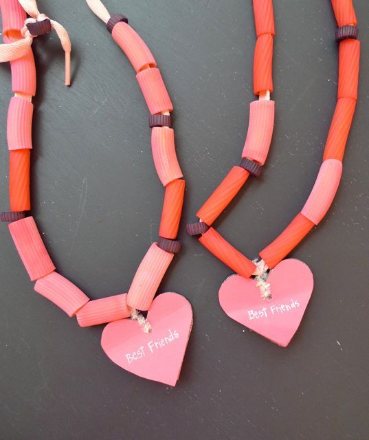 best friend pasta necklaces « Gather and Nest