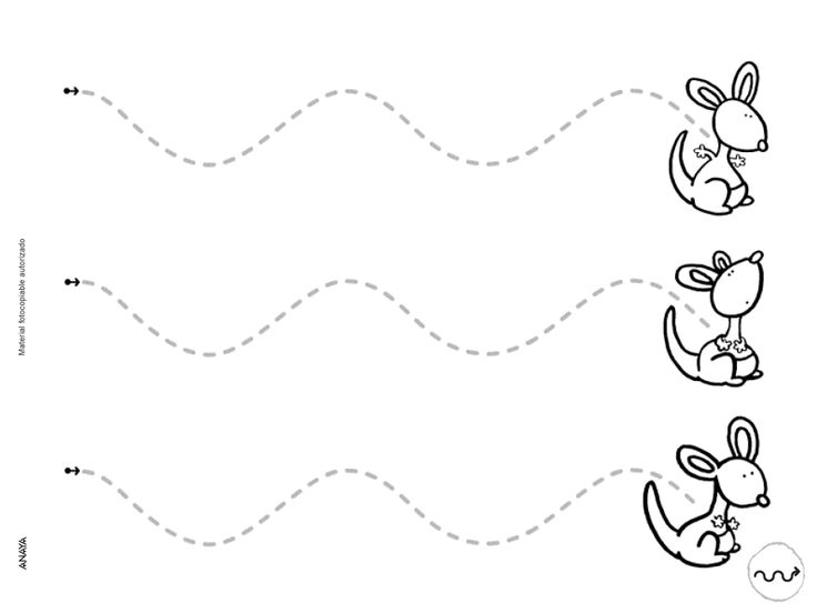 64 Fichas de refuerzo para niños de 3 años conceptos anaya, grafo