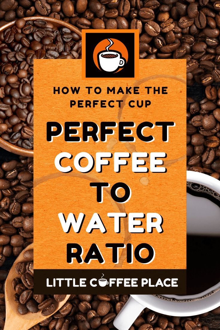 Coffee to Water Ratio Calculator + Charts for Every Method