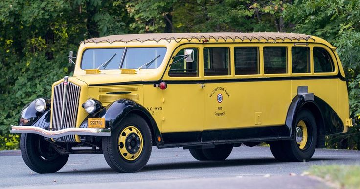 Your Classic 1937 Party Bus Has Arrived, And It's A National Treasure #Auction #Classics