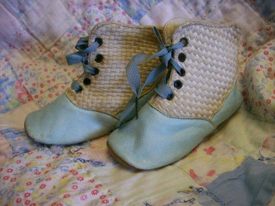291 Best Images About Vintage Baby Shoes And Dresses On