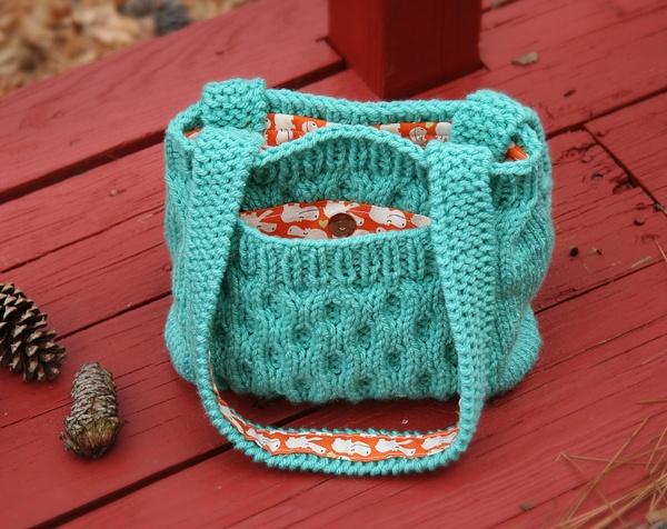 Free Knit Purse Pattern.