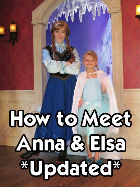 The most up to date (and updated often) post on how to meet Anna and Elsa at Disneyland.