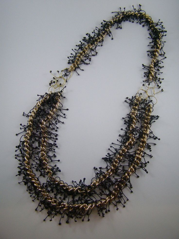 Unique handmade necklaces created by Jewellery and Accessories Making course facilitator, Pennie Jagiello #diy #jewellery