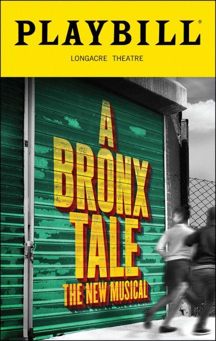 A Bronx Tale Playbill-(12-15-16)