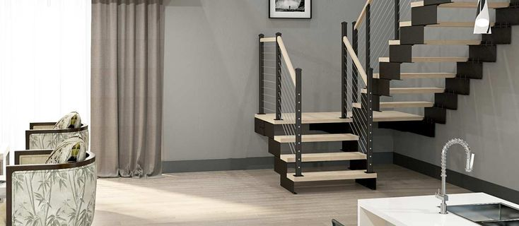 Best The Archer Modular Frame Straight Stairs Straight 400 x 300