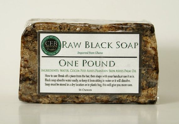 how to make black soap for glowing skin