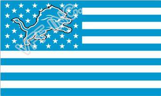 Детройт Лайонс Флаг NF * Национальная Футбольная Лига 3ft X 5ft полиэстер Баннер Летающий 150*90 см Пользовательский Флаг Спорт США Полосы DL1