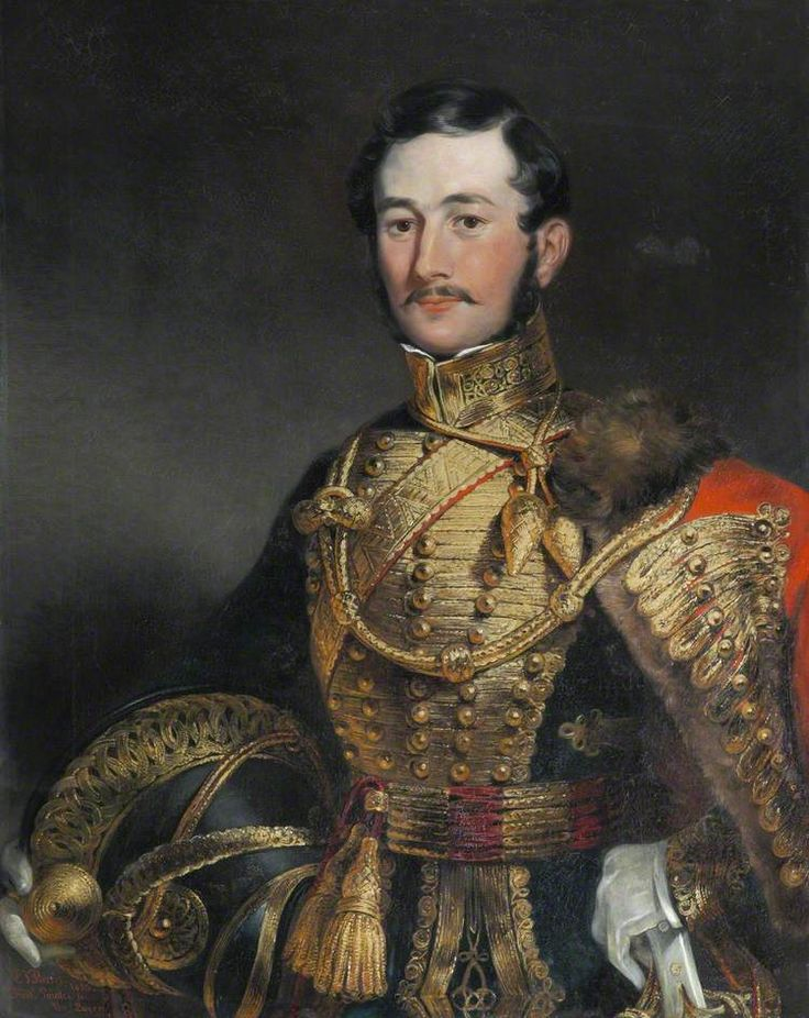 Captain F. Farquharson of Eastbury, Dorset, 7th Hussars 1836